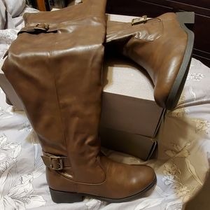 Brown Riding Boots Maurices Sz. 8
